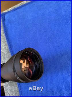 LEUPOLD VX-2 4-12x50 RIFLE SCOPE MATTE LONG RANGE RETICLE MINTY