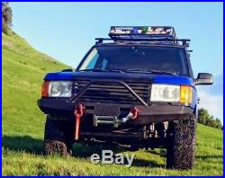Land Rover Discovery II Front steel winch Bumper Custom Range Rover P38