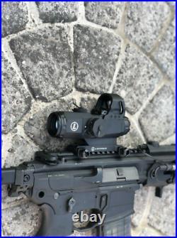 Leup Mark 4 HAMR 4x24 Rifle Scope Lens Red Dot Multi range Tactical Riflescope