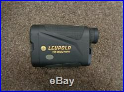 Leupold Rx-2800 Tbrw Range Finder Used Excellent With Carry Case
