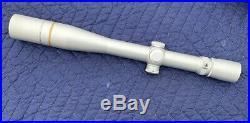 Leupold VX-III 6.5-20x40mm Long Range Silver Rifle Scope