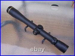 Leupold VX-III 6.5-20x40mm S. F. 30mm Tube Duplex Reticle Matte Long Range