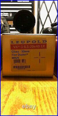 Leupold Vx-3 6.5-20×40 Long Range