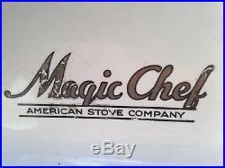 Lg. Antique 1930's MAGIC CHEF American Stove Co. Gas Stove/Range