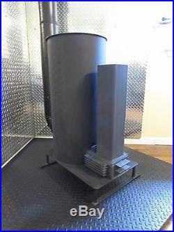 Liberator Rocket Stove Wood Heater with Pellet Hopper Adapter