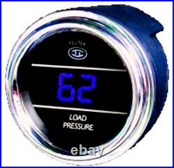 Load Pressure Gauge for Any Semi, Pickup Truck or Car with PSI Range 0-100