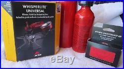 MSR WhisperLite Multi-fuel Stove, Bottles, & Maintenance Kit
