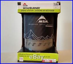 MSR Windburner 1.8L Stove System NEW