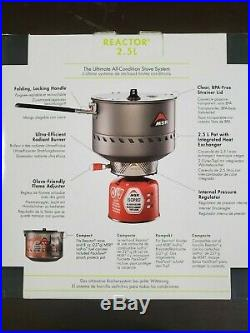 MSR reactor stove system 2.5L