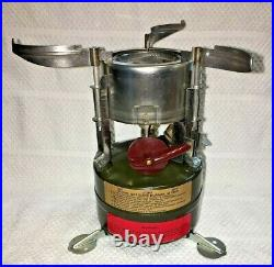 M-1950 pocket stove U. S. WYOTT1974 Vietnam era WYOTT