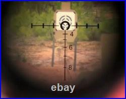 Mark 4 HAMR 4x24 Rifle Scope Lens Red Dot Multi range Tactical Riflescope
