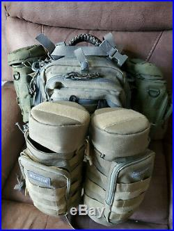 Maxpedition Falcon II Backpack (Green) 0513F EDC, Range, Great condition