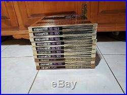 Maxwell 35-180 Ud Reel To Reel Tapes/lots Of 10/high Output/extended Range 1/4