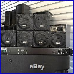 Meyer Sound (6) MM-4 Compact Wide-Range Speakers & MM-4 Speaker Controller