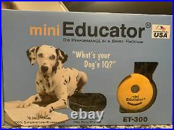 Mini Educator ET-300 Dog Training System 1/2 Mile Range Waterproof Remote