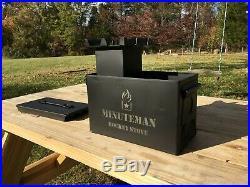 Minuteman Rocket Stove