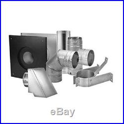 NEW 4 4in. DuraVent 3100 Pellet Stove Pipe Piping Venting System Kit 4PVL-KHA