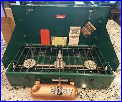 NIB 1950s Vintage Coleman 426B 3-Burner Camping Stove New in Box