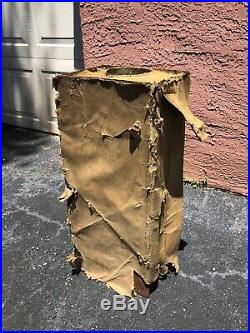 NOS 1952 YUKON M-1950 MILITARY Multi-Fuel TENT CAMP STOVE HEATER FREE SHIPPING