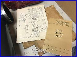 NOS 1952 YUKON M-1950 MILITARY Multi-Fuel TENT CAMP STOVE HEATER UNUSED Prepper