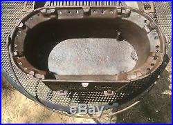 NOS, Birmingham Stove & Range Co. Cast Iron Sportsman Grill/Hibachi withFry Pan