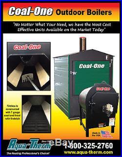 New Aqua-therm Coal-One 275 Outdoor coal burner/boiler/furnace/stove