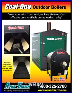 New Aqua-therm Coal-One 345 Outdoor coal burner/boiler/furnace/stove