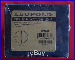 New Leupold Mark 4 LR/T Long Range Tactical Rifle Scope M1 30mm / 8.5-25x 50mm