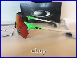New Oakley EVZERO RANGE PRIZM Sunglasses Green Fade/Field Chrome Iridium 9327-09