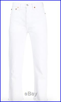 New Years SALE NEW WITH TAGS RE/DONE HIGH RISE STOVE PIPE JEANS Size 26