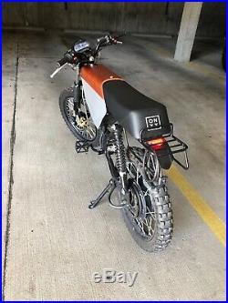 ONYX RCR Electric Bike 72v 3000W 60mph and 75 mile range(lightly used)