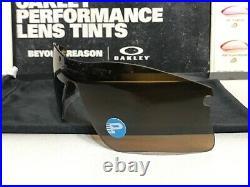 Oakley Radar Range Bronze Iridium Polarized Lens New with Oakley Microfiber
