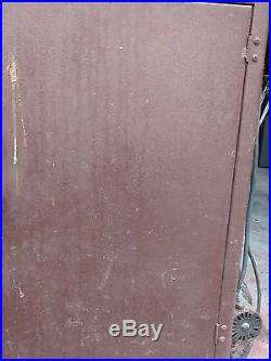 Old Sears Wood Burning Parlor Stove and 2 36 Pieces of Triple Wall Stove Pipe