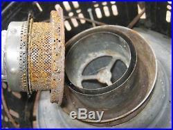 Orginal Vintage Rustic United States Stove CO Model US89-P Kerosene Heater Lamp