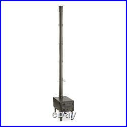 Outdoor Wood Stove Furnace Cast Iron Door Adjustable Vent Steel GUIDE GEAR