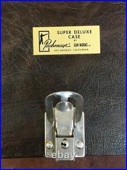 Pachmayr Gun Works Super Deluxe Case Pistol Range Box 5 gun