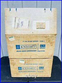 Pair of Vintage Knight KN615-HC 15 3 Way Full Range Loudspeakers