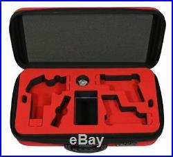 Peak Case Covert Compact Three Pistol Range Case