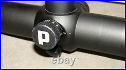 Pentax Lightseeker 30 8-32X50 plex and 3 dots side AO long range rifle scope USA