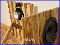 Pine Tree Audio Cumaru 8 Full-Range Single Driver Open Baffle Speakers USA Made