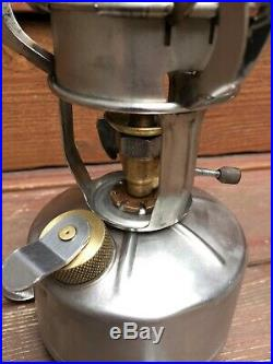 Prentiss-Wabers M1942 Mountaineer Field Stove WWII TESTED Coleman Case NICE