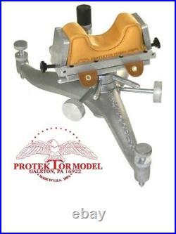 Protektor Model New Cast Aluminum Long Range Mechanical Shooting Rest Benchrest