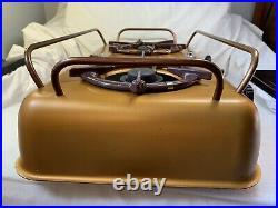 RARE Vintage Homestrand Mariner 205-32A 2 Burner Alcohol Yacht Boat Stove