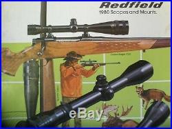 REDFIELD 2X-7X Widefield Low Profile Accu-Trac BDC Rangefinder & 4 Range Dials