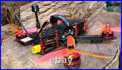 Racing drone, VTX long range 1600mW, Mamba f722, Rx Frsky, GPS