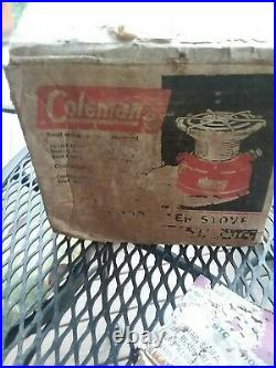 Rare 1962 Coleman 501-700 Sportster Single-Burner Stove withBox & Papers, 6/62