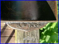 Rare Atlantic Bread Pan, Portland Stove Foundry cast iron, Good condition