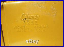 Rare Harvest Gold Coleman Camping Stove 425E- Original Paint, Vintage