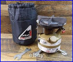 Rare Vintage Coleman Peak1 Single Burner Stove 400a7017 Gold Rei ...