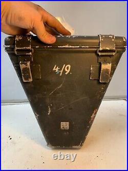 Rare WW2 German Army Flak Range Finding Equipment Box